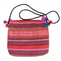 Bright Multicoloured Handlloom Thai Hilltribe Shoulder Bag - Fair Trade