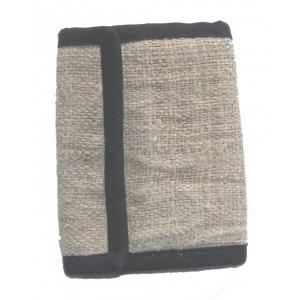 Natural Hemp Wallet - Handmade In Nepal - Stylish, Durable & Fair Trade
