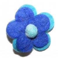 Hand made Felt Daisy Flower Hair Accessory - Fair Trade