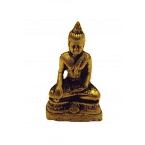 Fair Trade Hand Cast Brass Buddha Figurine from Kathmandu, Nepal