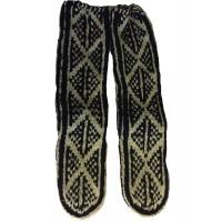 Afghan Slipper Socks -Genuine  - Fair Trade - Handknitted