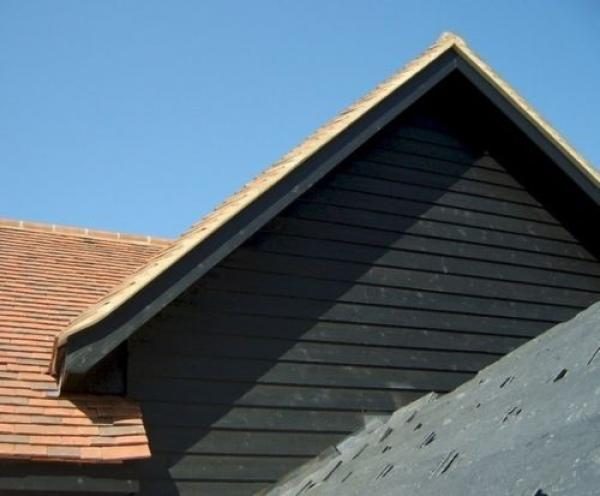 A square metre of Weatherboard Cladding